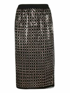 Marco de Vincenzo Patterned Skirt