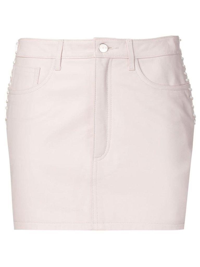Iro side-lace skirt - Pink