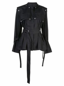 Proenza Schouler Belted Trench Jacket - Black