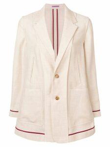 Sueundercover lightweight blazer jacket - Neutrals