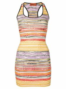 Missoni Mare rainbow knit dress - Yellow