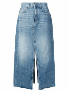 Rag & Bone mid-length denim skirt - Blue
