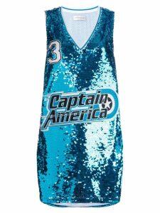 Faith Connexion Captain America jersey top - Blue