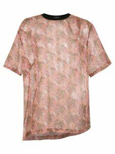 À La Garçonne oversized t-shirt - Neutrals