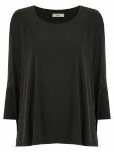Egrey 7/8 sleeved top - Black