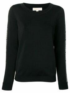 Michael Michael Kors logo tape sweatshirt - Black