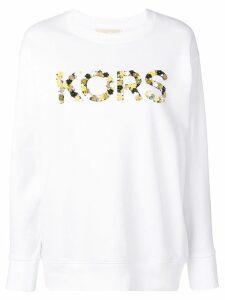 Michael Michael Kors logo sweatshirt - White