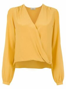 Egrey silk blouse - Yellow