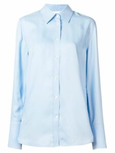 Helmut Lang button-up shirt - Blue