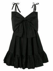 MSGM oversized bow dress - Black