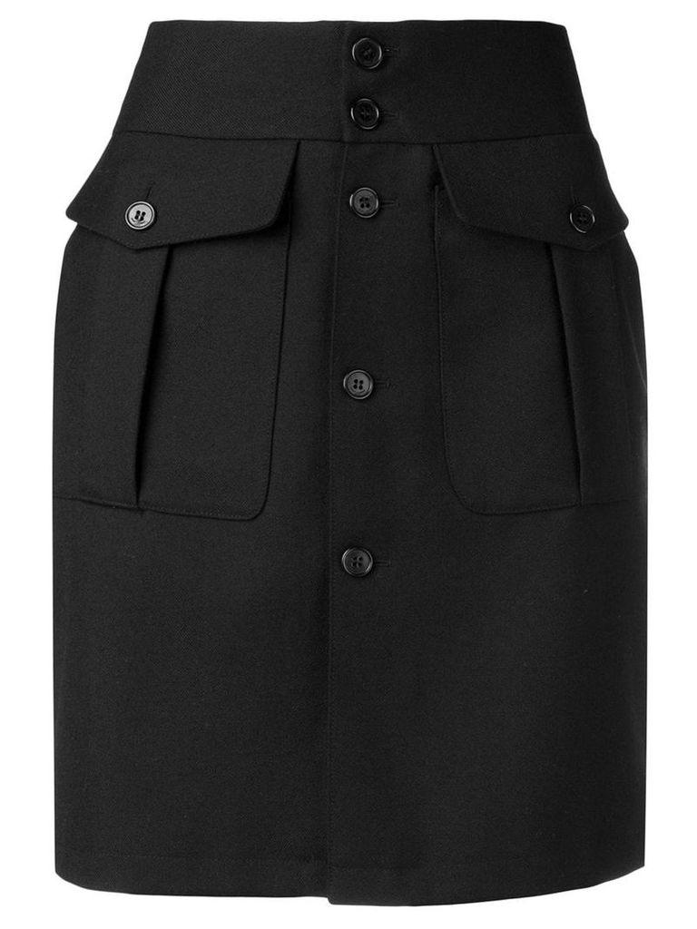 Saint Laurent high-waisted skirt - Black