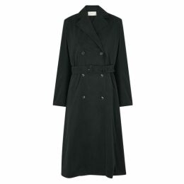THE ROW Norza Dark Teal Trench Coat