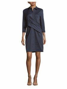 Daphne Cotton-Blend Dress