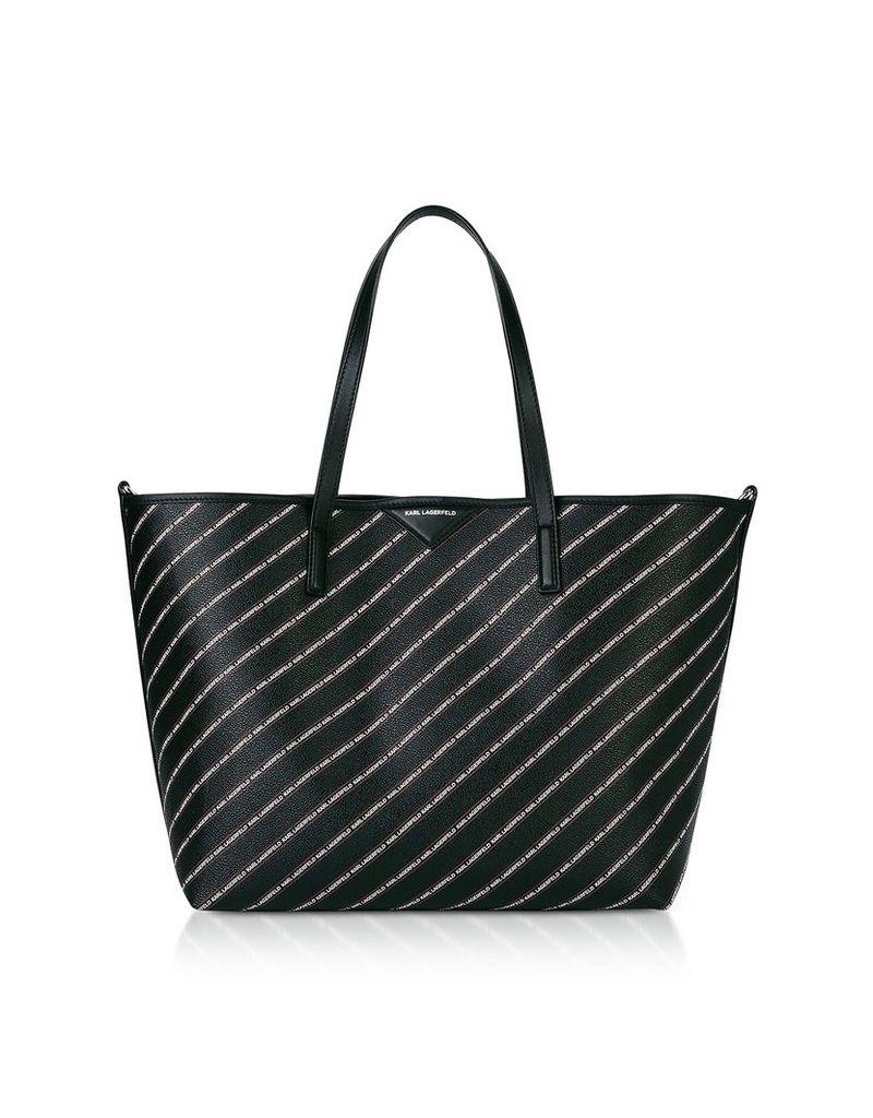 Karl Lagerfeld K/stripe Logo Shopper