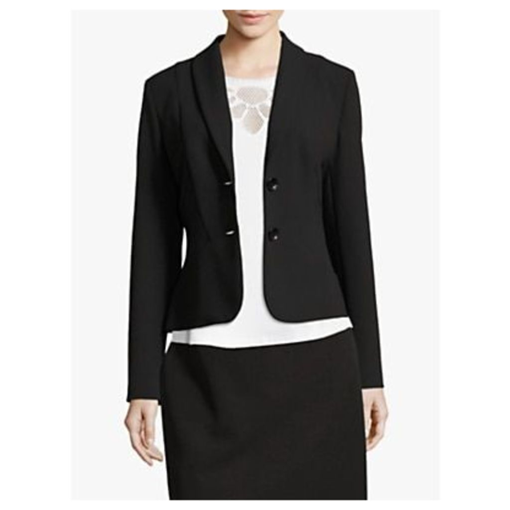 Betty Barclay Tailored Two Button Blazer, Black