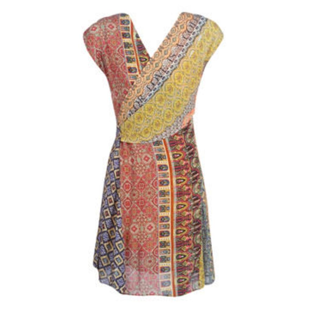 Desigual  CLANZIE  women's Dress in Multicolour