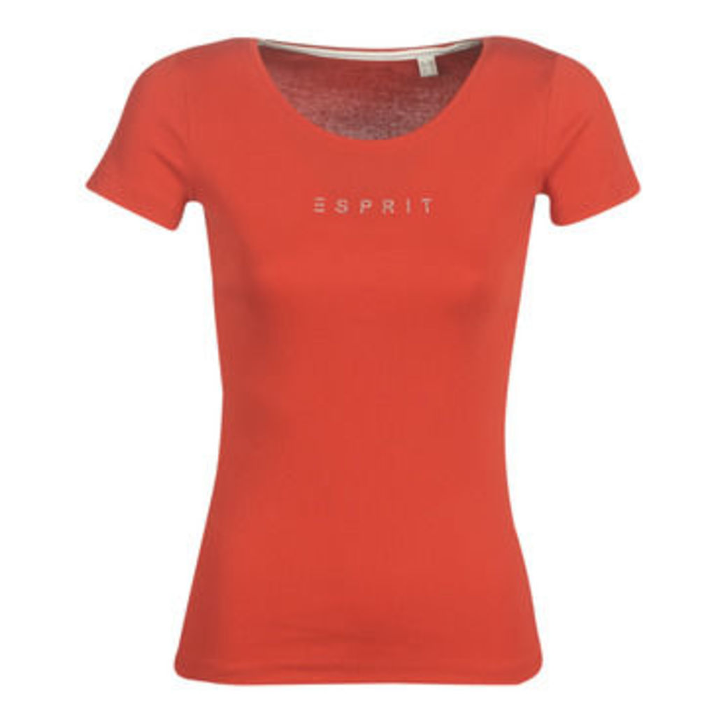 Esprit  VAPARITE  women's T shirt in Red