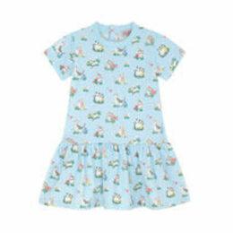 Garden Kittens Baby Dress