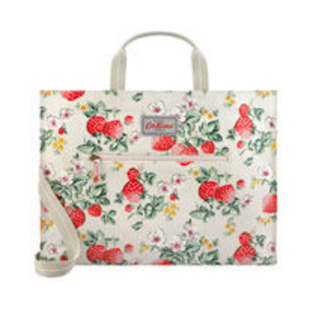 Wild Strawberry Strappy Carryall Bag