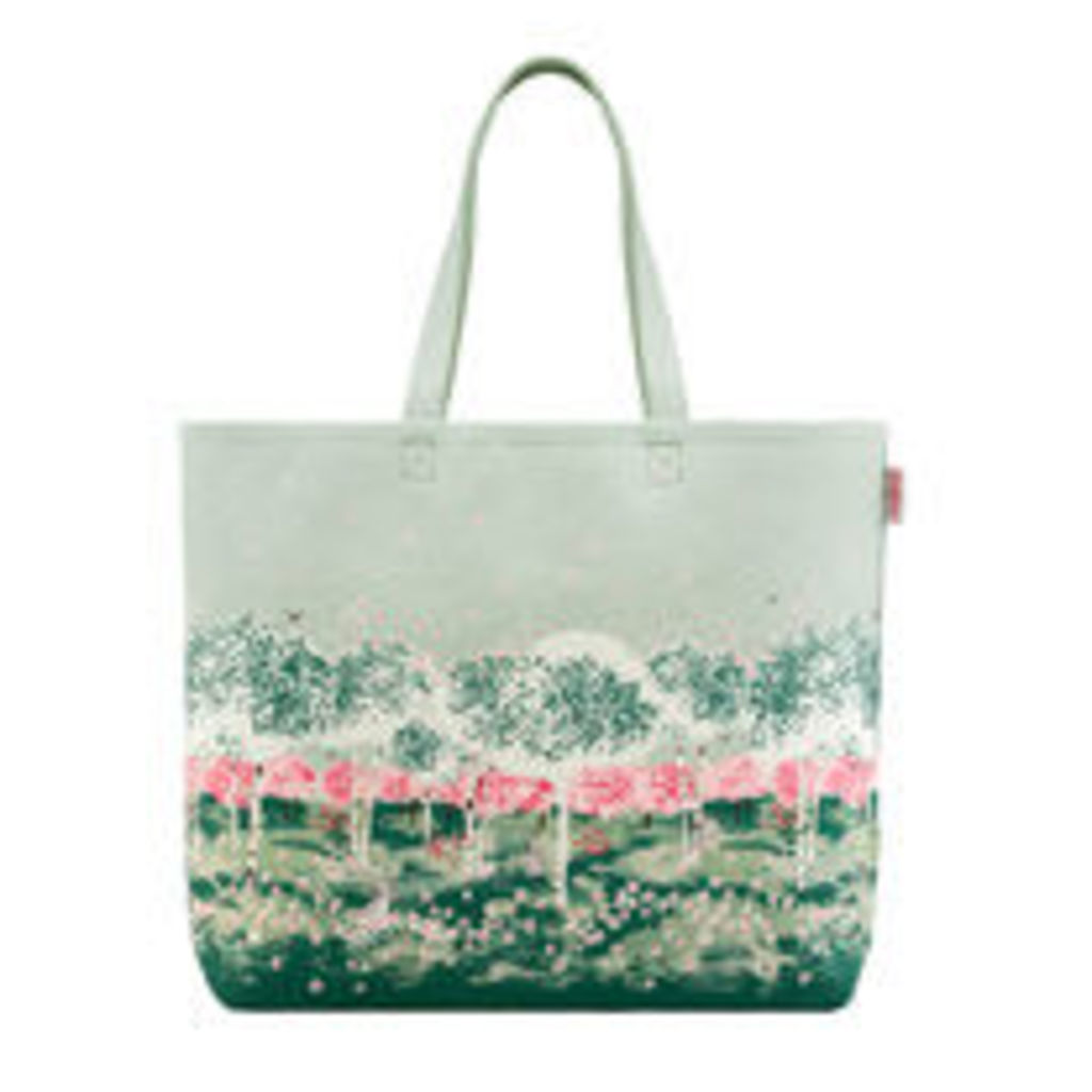 Birch Forest Large Canvas Tote Bag