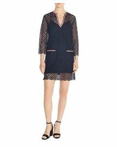 Sandro Ilina Lace Mini Dress