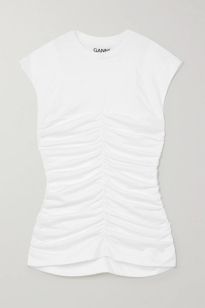 Les Rêveries - Neon Open-back Knitted Sweater - Bright orange