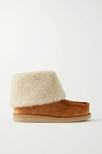 Ulla Johnson - Poppy Ruffled Denim Mini Dress - Mid denim