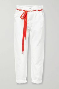 Prada - Pleated Printed Silk Crepe De Chine Dress - Green