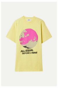 AMBUSH® - All Equal Printed Cotton-jersey T-shirt - Yellow