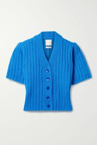 Simone Rocha - Ruffled Tiered Embroidered Tulle Midi Skirt - Black