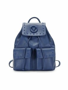 Simeon Studded Leather Backpack