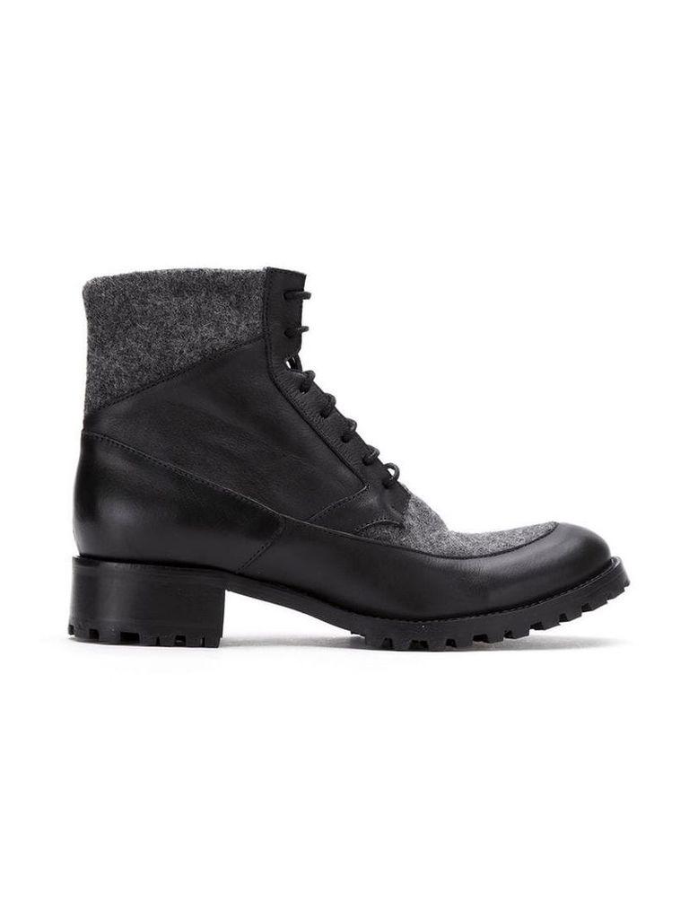 Sarah Chofakian leather boots - Black