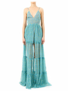AMIRI Long Floral Dress