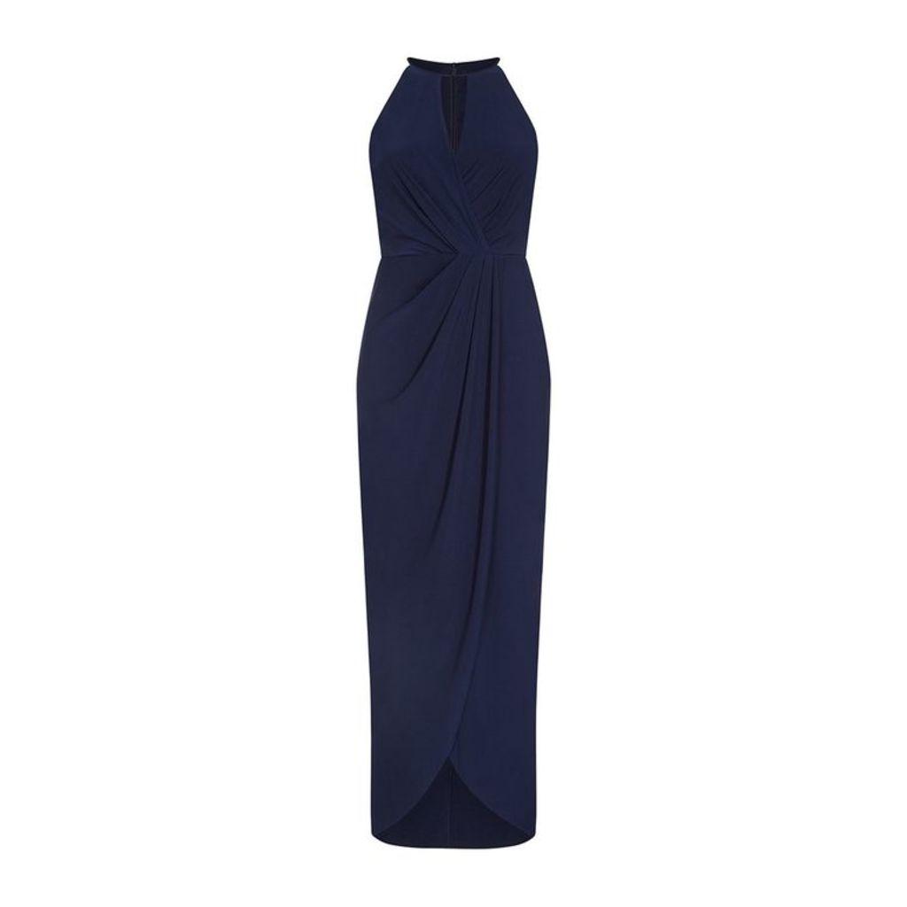 Adrianna Papell Halter Jersey Dress