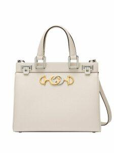 Gucci Gucci Zumi small top handle bag - White