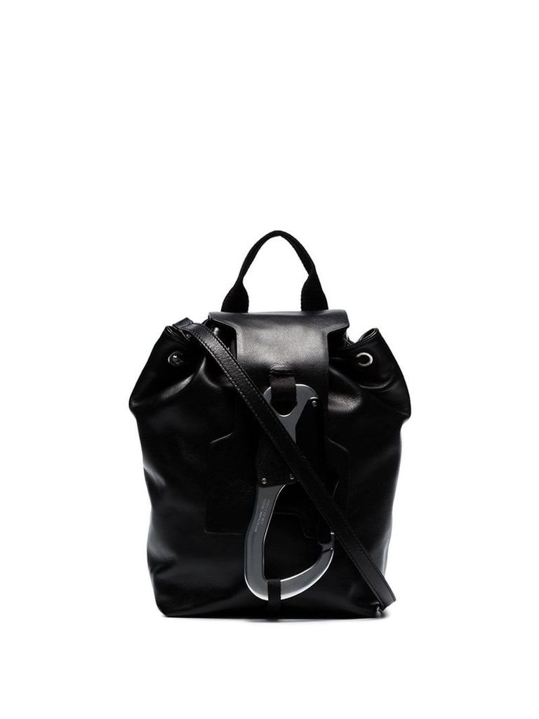 1017 ALYX 9SM black Baby Claw leather backpack