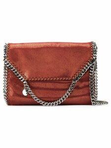Stella McCartney large Falabella Shiny Dotted chamois shoulder bag -