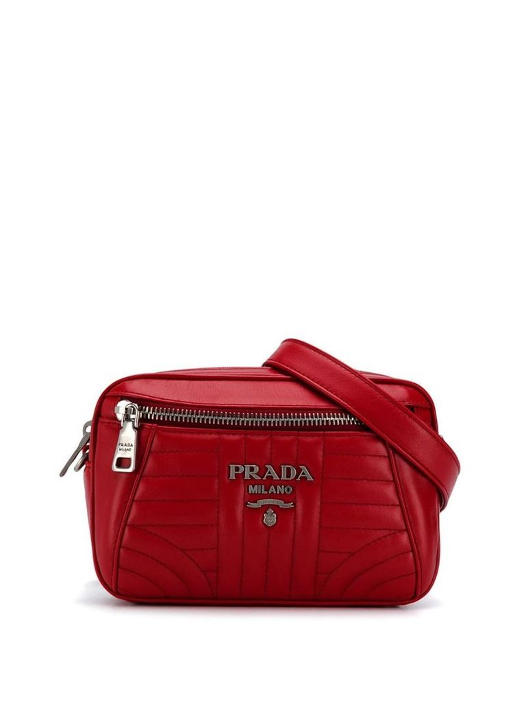 Prada quilted belt bag - Red
