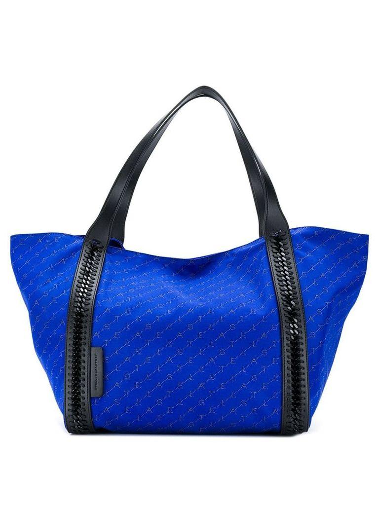 Stella McCartney monogram tote bag - Blue