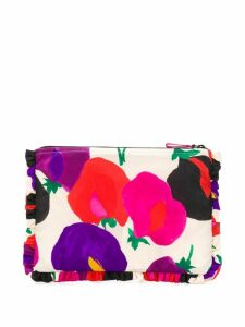 La Doublej printed clutch bag - Neutrals