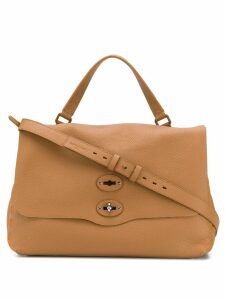 Zanellato Postina tote bag - Brown