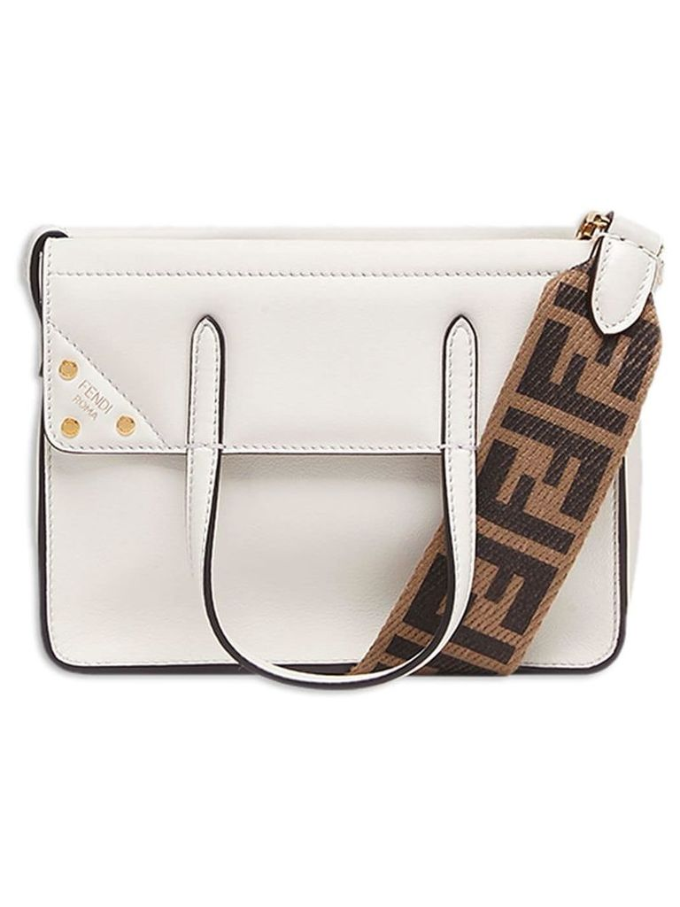 Fendi Fendi Flip mini handbag - White