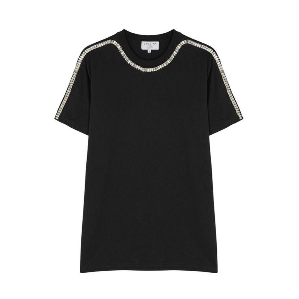 Collina Strada Sporty Spice Black Cotton T-shirt