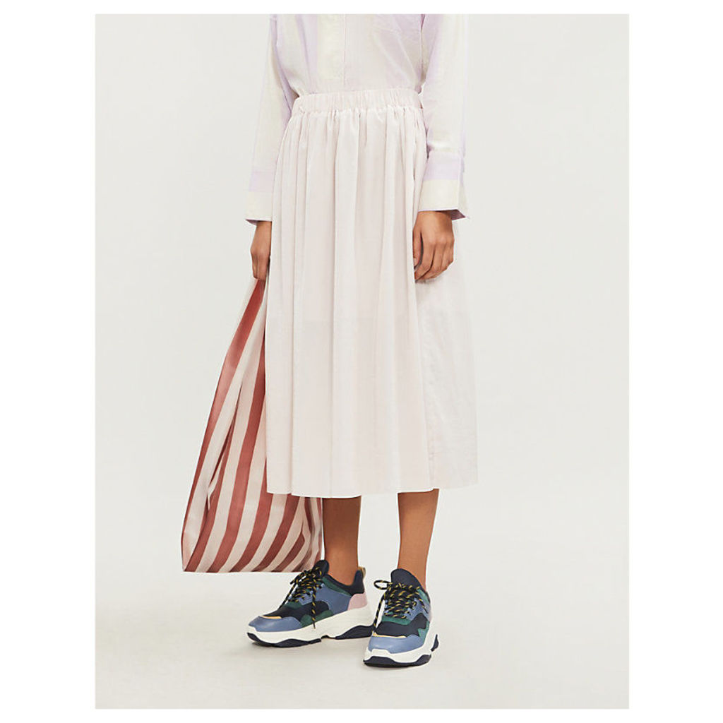Nadia gathered high-waist skirt