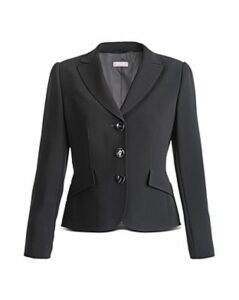 Basler Pleated Back Blazer