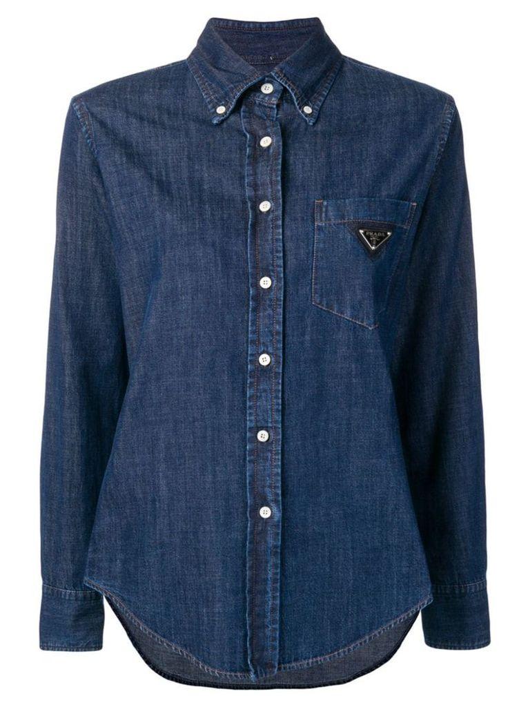 Prada denim shirt - Blue