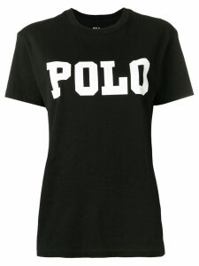 Polo Ralph Lauren logo print T-shirt - Black