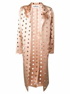 Caban Romantic cut polka dot coat - Neutrals