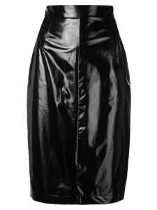 Nº21 fitted pencil skirt - Black