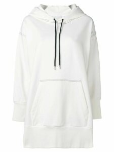 3.1 Phillip Lim French Terry Oversized Hoodie - White